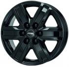 Литые диски Rial Torino Diamond Black Front Polished